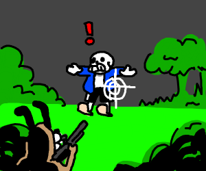 duckhunt dog shooting sans