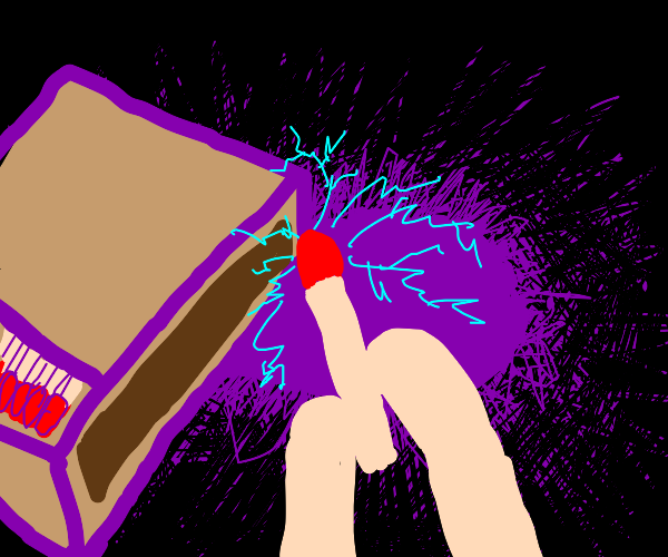 Matches that spark electricity