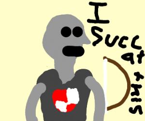 when u SUCC at archery