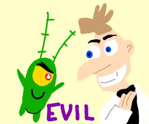 Plankton and Doofinshmirtz partners in crime