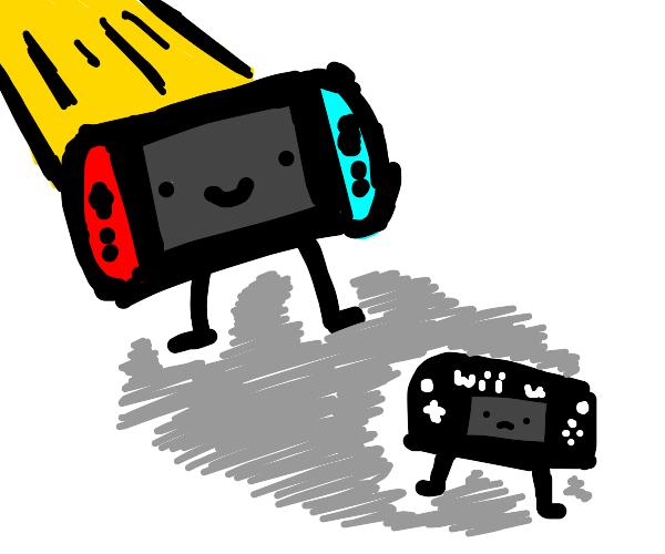 Wii U is sad it got overshadowed by switch