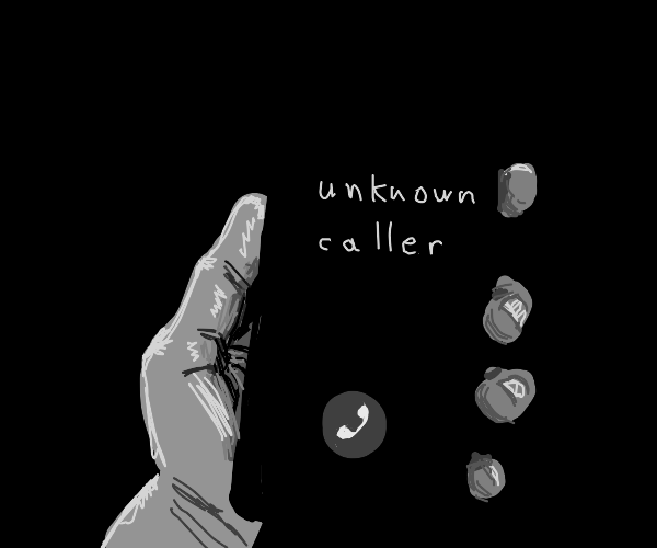 Do NOT answer the phone!-Disembodied Narrator