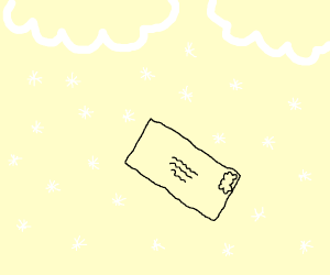 Letter in a Snowstorm