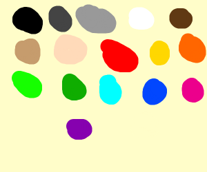 All the drawception colors
