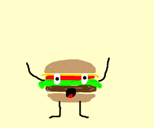 Living hamburger