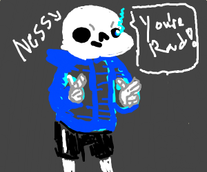 Ness (Sans) reminds you that you're Rad