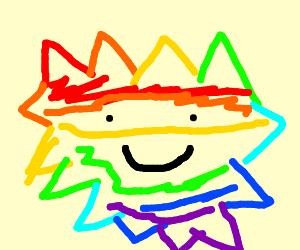 Rainbow Porcupine