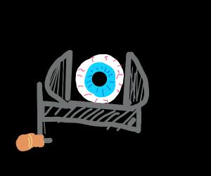 Eyeball vice