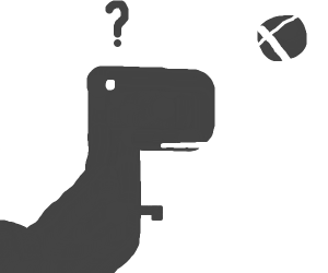 No internet dinosaur game
