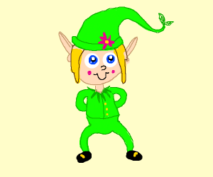 Elf veary cute elf