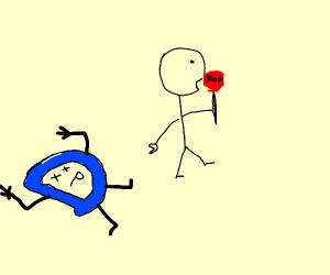STOP! ASSAULT! Someone has slain The D!
