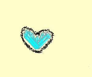 Crystal heart
