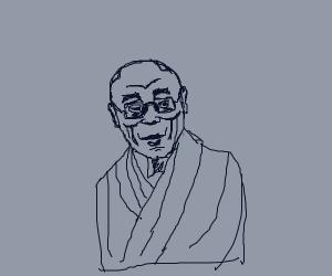 Blue dalai lama