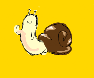 The Snail from Adventure Time