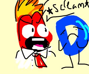 anger from inside out yells at drawception D