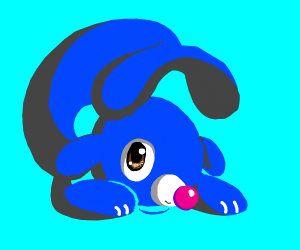 a very cute popplio ( thanks for making this)