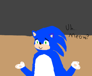 Y is no one talkin about sonic movie anymore?