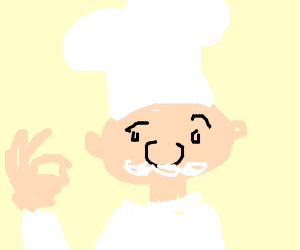 Old cook