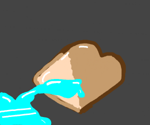 Wet bread