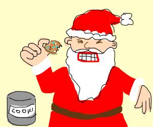 Santa hates cookies