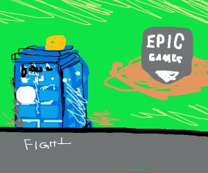 The Tardis vs Epic Games