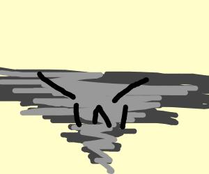 Angry tornado