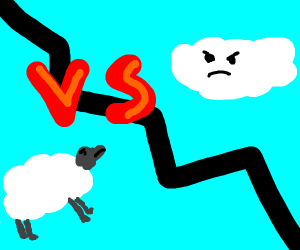 Sheep vs. Cloud