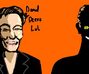 Elon mush and Mark Zuckerburg