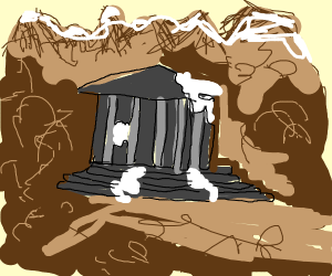 Mountain Temple Ruins