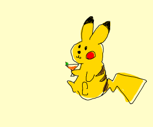 Pikachu Martini