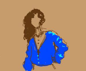 Cool 80s girl
