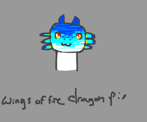 Draw anything Wings of Fire