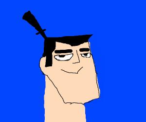 Samurai Jack really smug