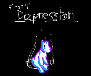 Pooh bear 4th stage depression
