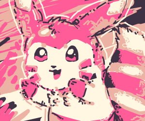 furret goes pink for the day