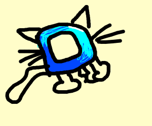 Drawception cat version