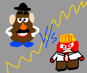 mr potato head vs anger from inside out