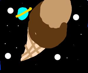 a brown space iced cream sandwich