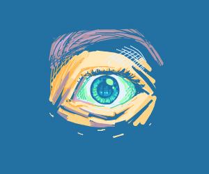 A piercing eye