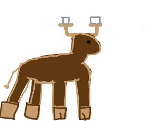 Hot chocolate moose