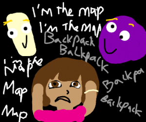 Backpack Backpack/ I'm the map, I'm the map