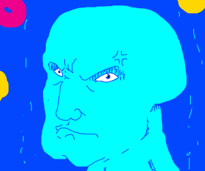 Angery Handsome Squidward