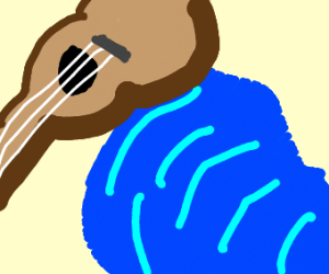 guitar by puddle