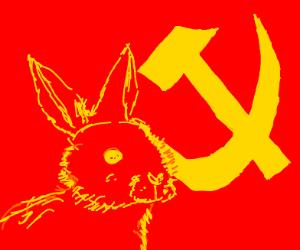 Communist rabbit