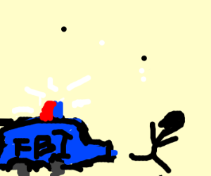 Stick man is hunted down by FBI