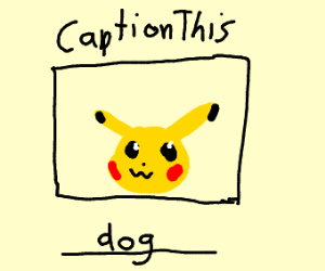 Guy thinks pikachu is a dog