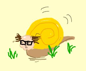 Danny Devito as a snail