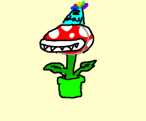 piranha plant's birthday
