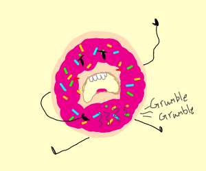 hungry doughnut