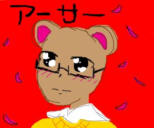 Arthur Read as an anime character